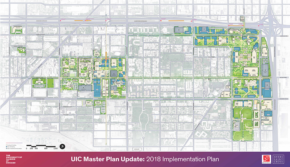 UIC Campus Map