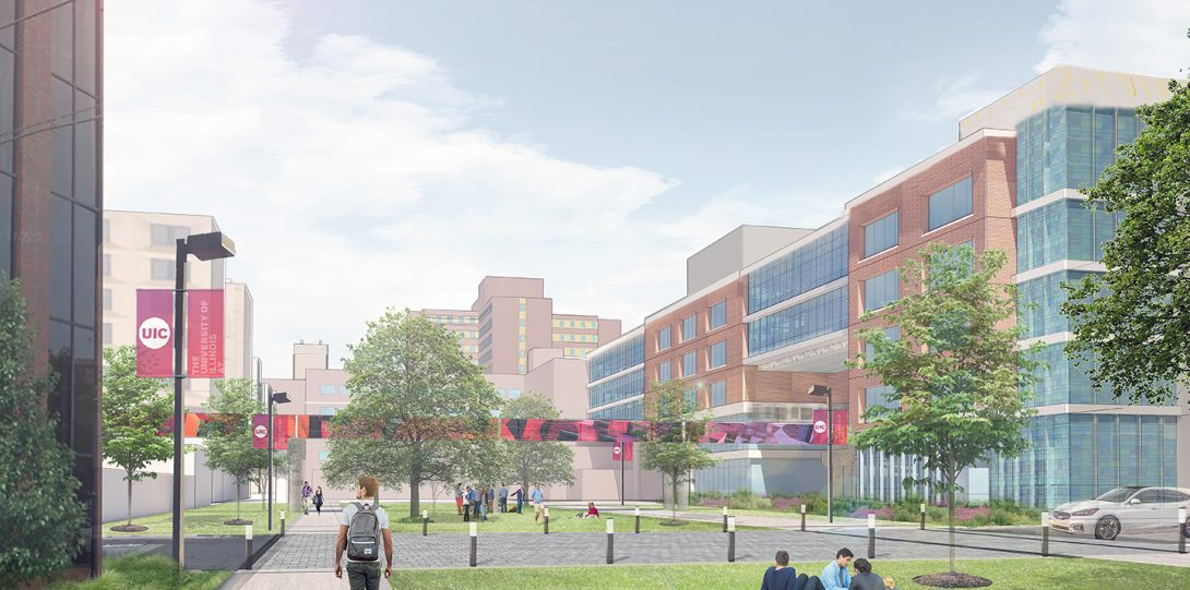 Rendering of East Campus 1