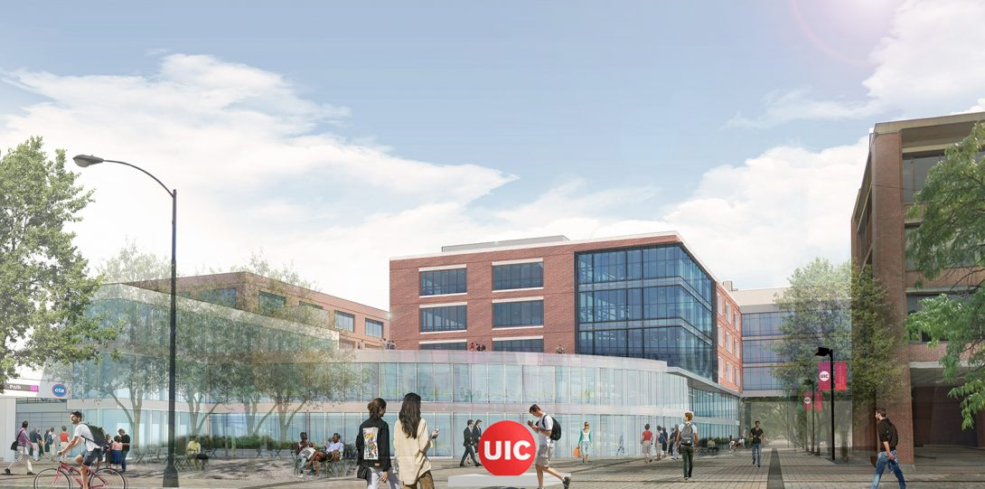 Rendering of East Campus 7