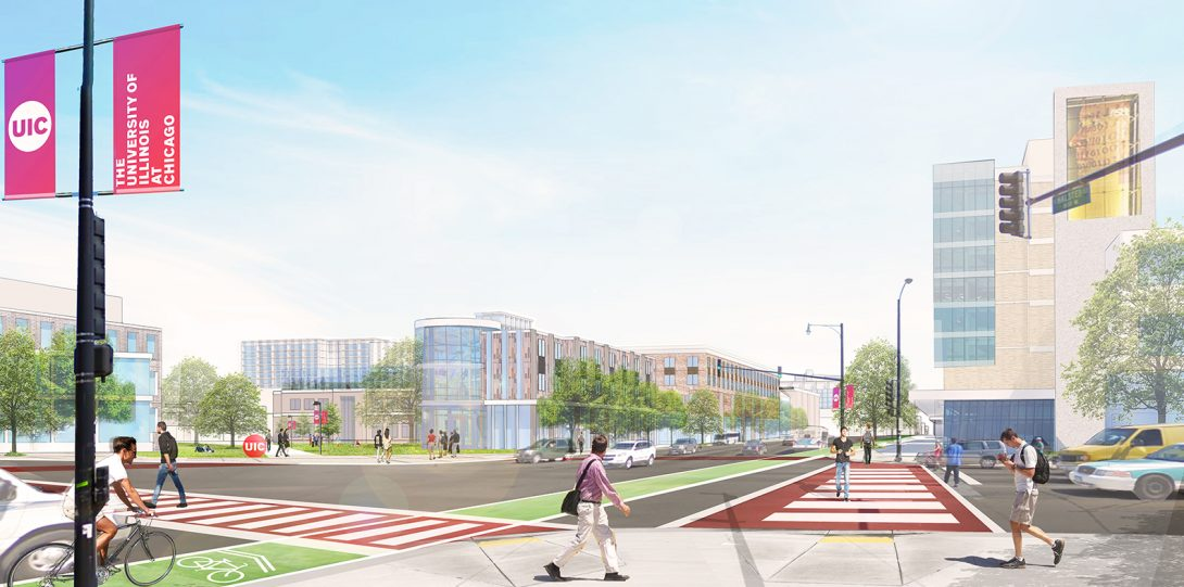 Rendering of East Campus 8