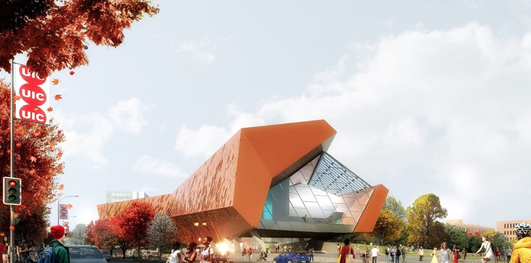 Morphosis Architects from (Culver City, California CA) teamed with STL Architects (Chicago, IL)