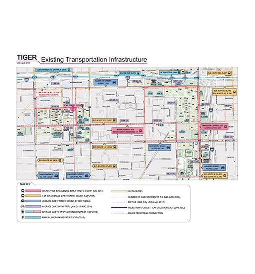 TIGER Transportation Map